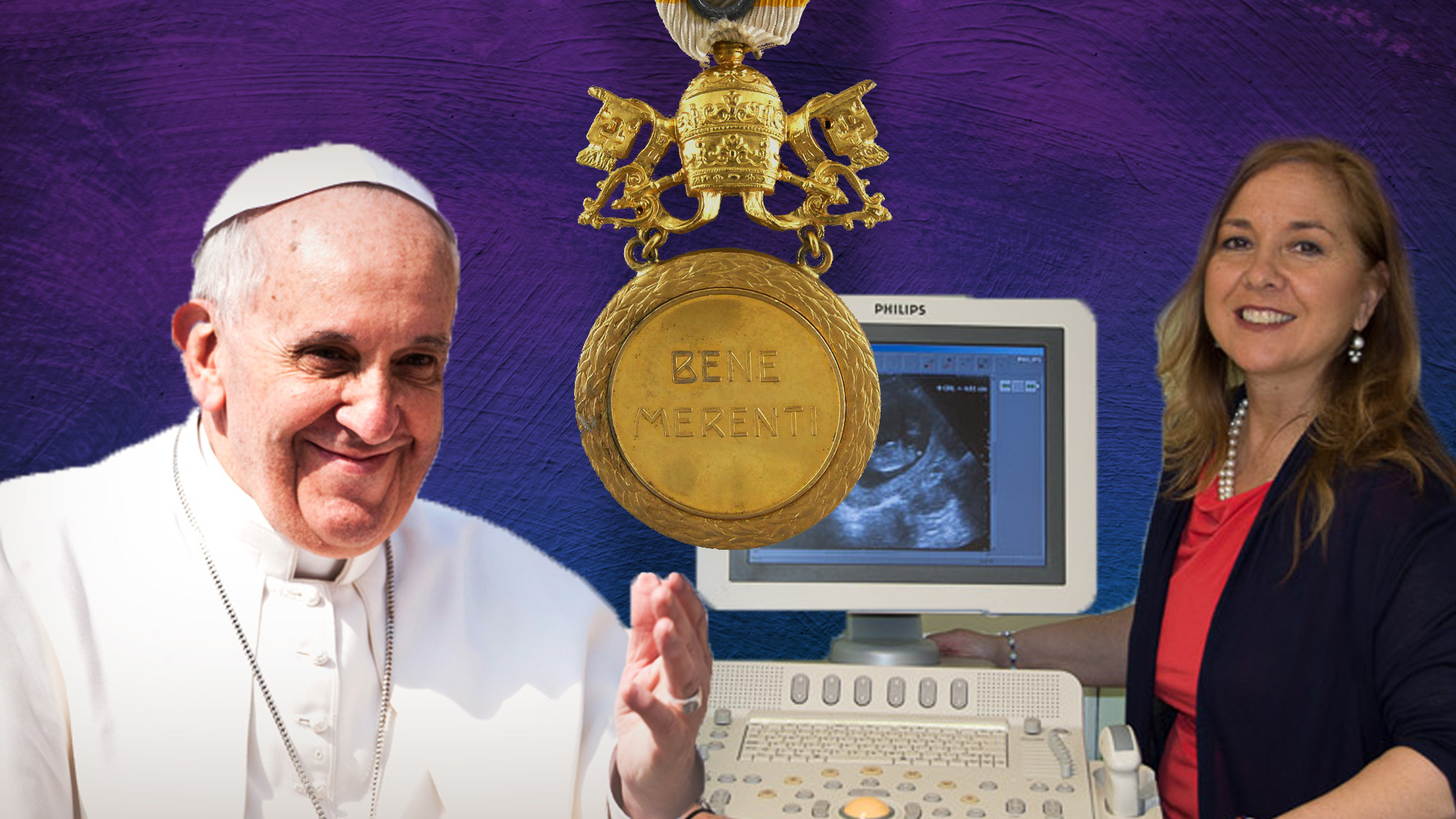 Pope Francis has awarded the Benemerenti Medal to Marie Joseph, Executive Director of Legacy of Life Foundation